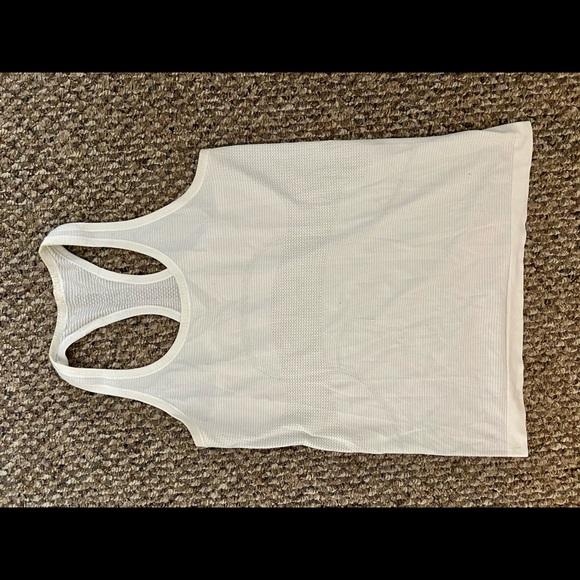 Lululemon white tank top